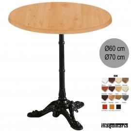 Mesa de bar 3R32SM redonda