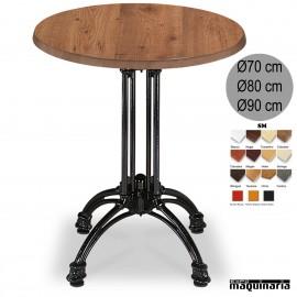 Mesa bar hostelería redonda 3R62SMCR