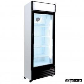 Nevera Refrigerador ECO con Puerta de Cristal CLARD300