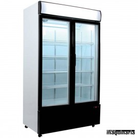 Nevera Refrigerador ECO con Puerta de Cristal CLARD700