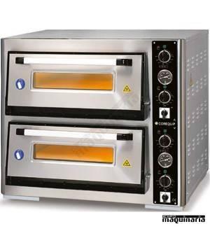 Horno pizza eléctrico 2 pizzas de Ø40 cm CLH24040DE3