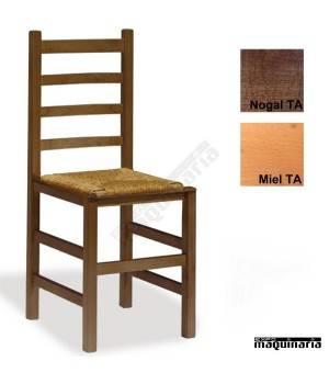 Silla cafeteria madera y anea ECO 1T205