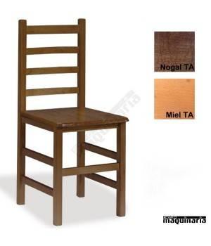 Silla madera 1T205 CON ASIENTO DE ANEA