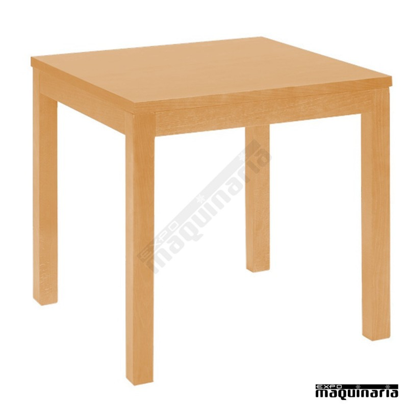 Mesa de haya ta bar diferentes medidas hosteler a for Mesas de bar de madera