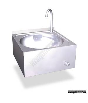Lavamanos de pared no manual en acero inox. 061202