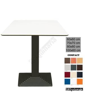 Mesa de bar 3R68 COMPACT Blanco