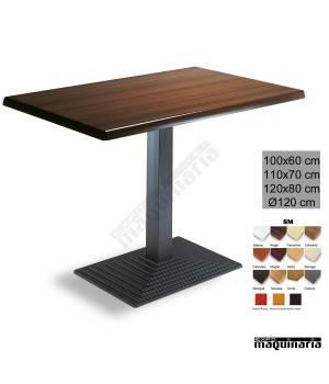 Mesa bar hostelería 3R69SM rectangular