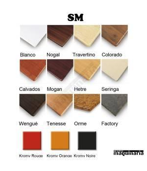 Colores SM de la Mesa alta hostelería 3R93SMR bar