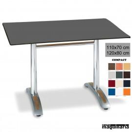 Mesa con armazón de Aluminio 405