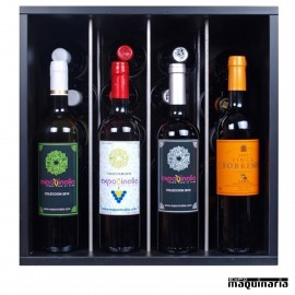 Armario vino neutro EXMALBEC mini 24 botellas