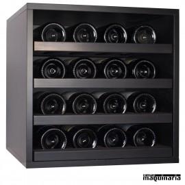 Armario para vino neutro MERLOT mini 16 botellas
