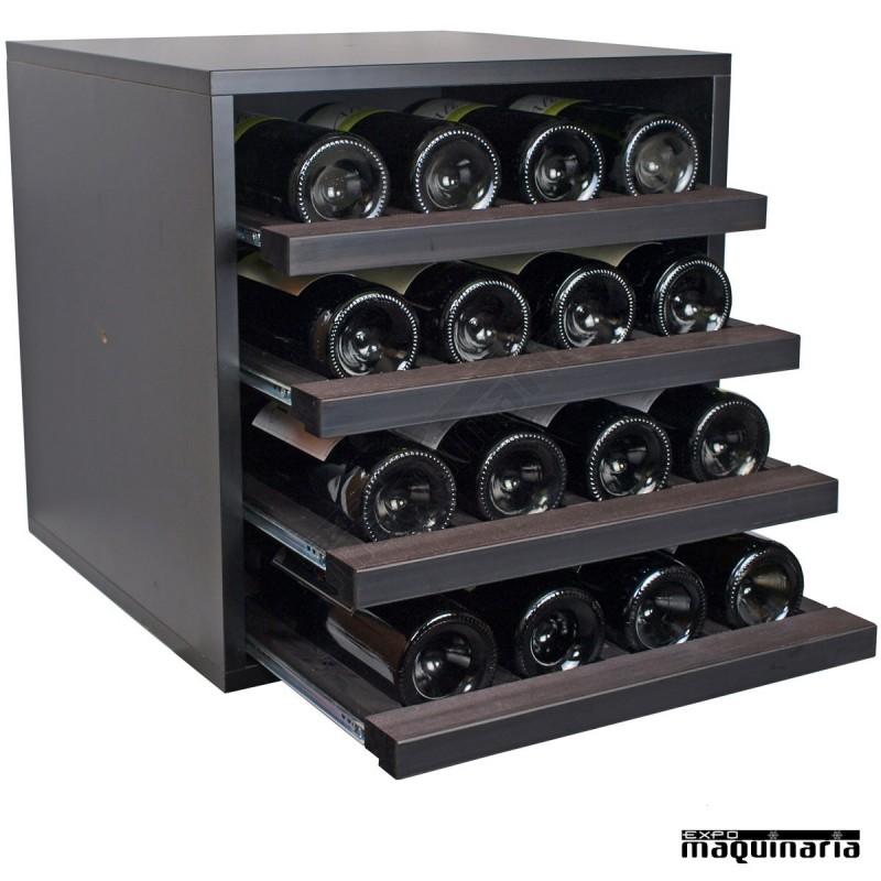 Armario vino neutro exmerlot mini 16 botellas - Muebles para bodegas ...