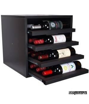 Armario para vino neutro extraible SYRAH mini 16 botellas