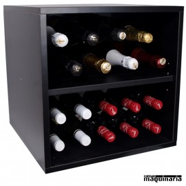 Armario para vino neutro MONASTRELL mini 20 botellas