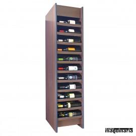 Armario para vino neutro SYRAH 66 botellas