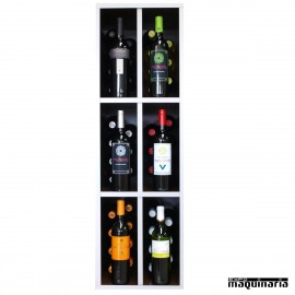 Armario para vino neutro MALBEC 48 botellas