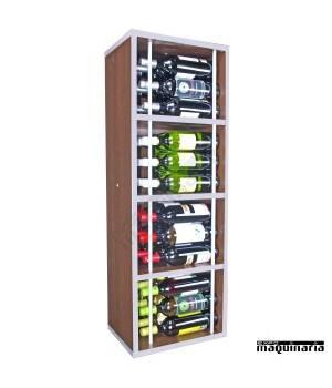 Armario para vino neutro MALVASIA 36 botellas