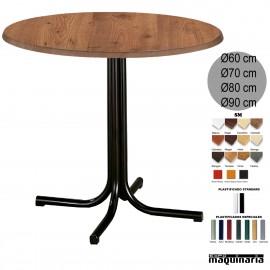 Mesa de bar 3R00SMR redonda