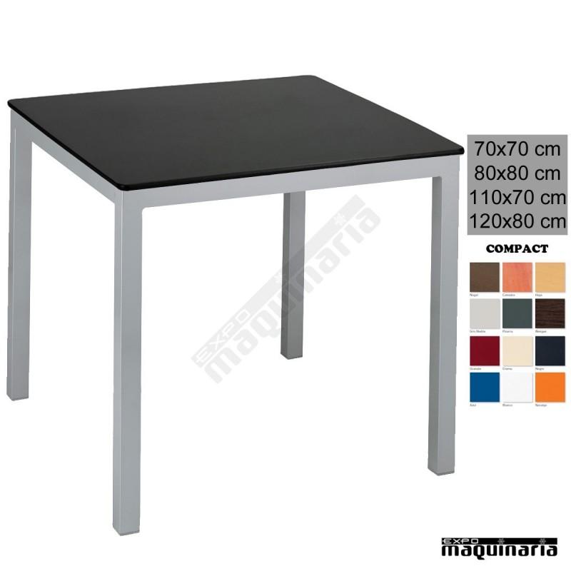 mesa bar 4r13co terraza apilable tablero melamina