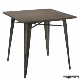 Mesa hierro vintage hostelería AGT1408