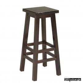 taburetes altos de madera - taburetes de madera para barra o mesa