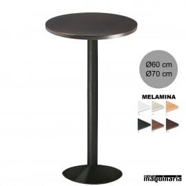 Mesas altas redondas