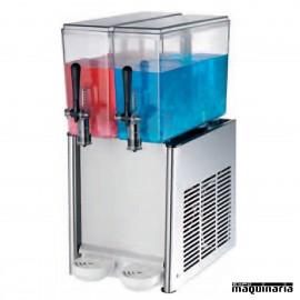 Enfriador de líquidos con 2 depósitos de 12 litros