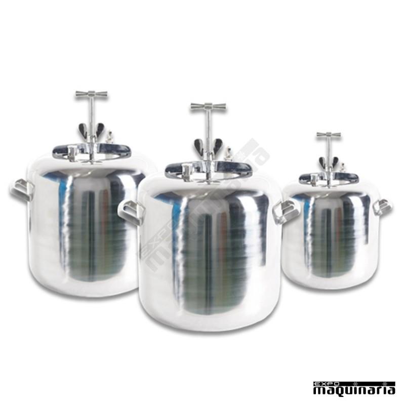Olla expres industrial 300 raciones for Ollas para cocina industrial
