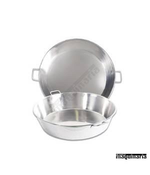Caldero acero inox. 80-70 cm (124 raciones)