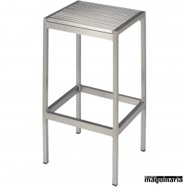 Taburete aluminio anodizado 5R90