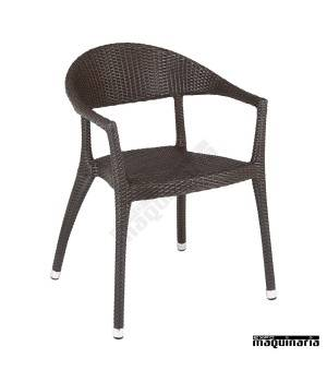 Sillon bar Aluminio 2R01 apilable