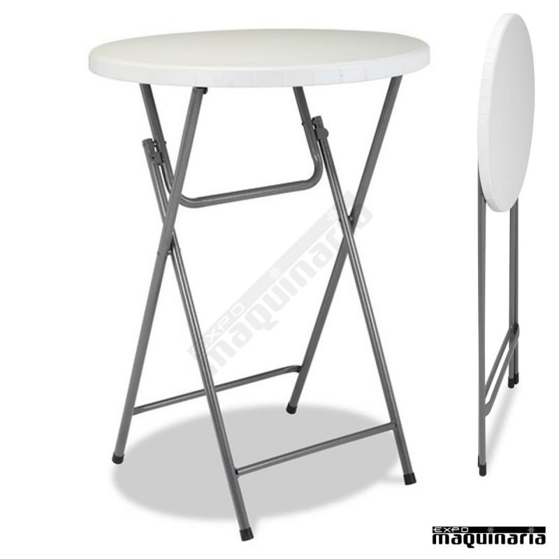 Mesa alta plegable para catering modelo 3r11 - Mesas plegables carrefour ...