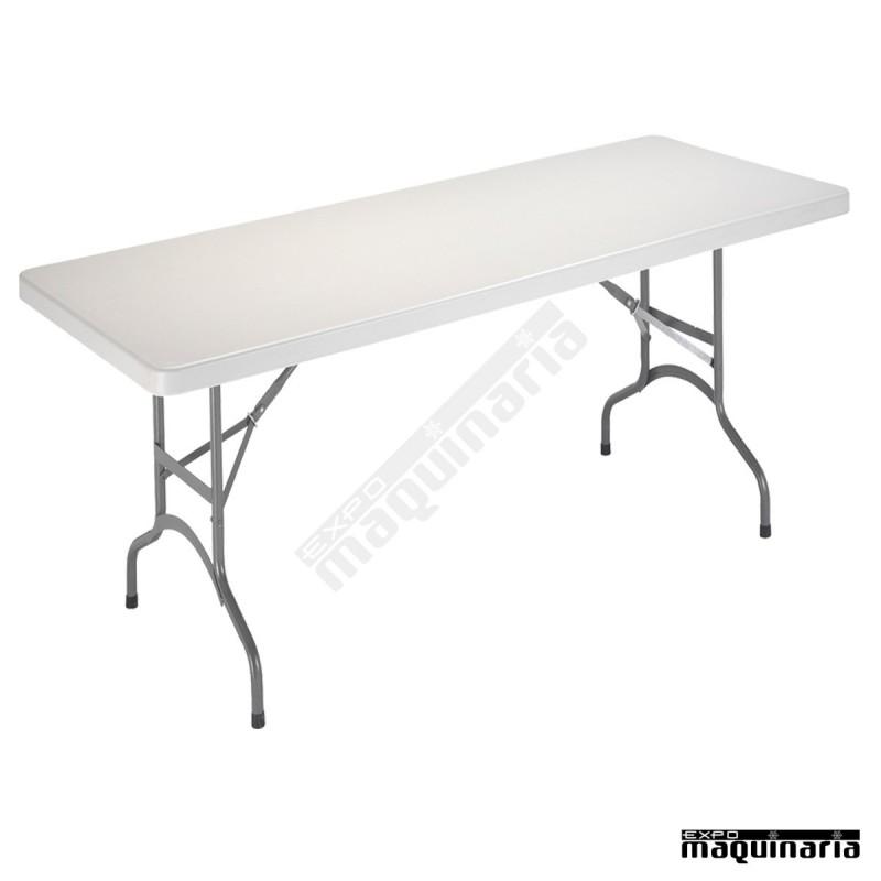 Mesa rectangular de catering 3r11 153 x 72 cm for Mesa plegable medidas