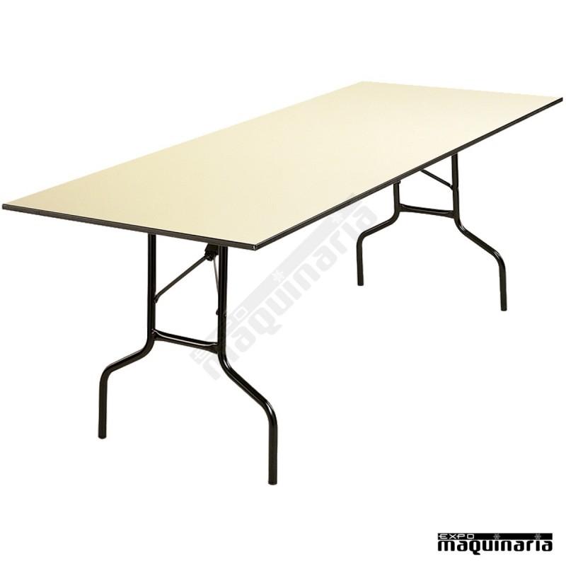 Mesa de catering 3r12 200 x 80 cm plegable for Mesa catering plegable