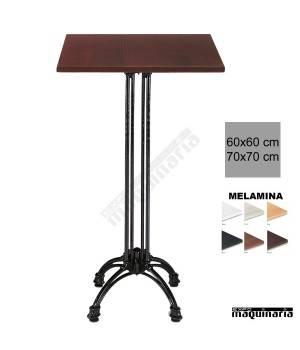 Mesa bar hostelería 3R66MEC aluminio