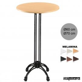Mesa Alta bar 3R66MER aluminio