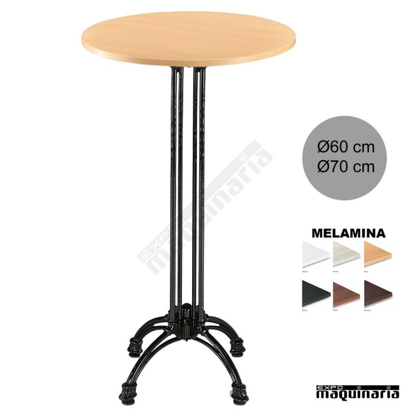 Mesa alta bar 3r66mer aluminio - Mesas altas bar ...