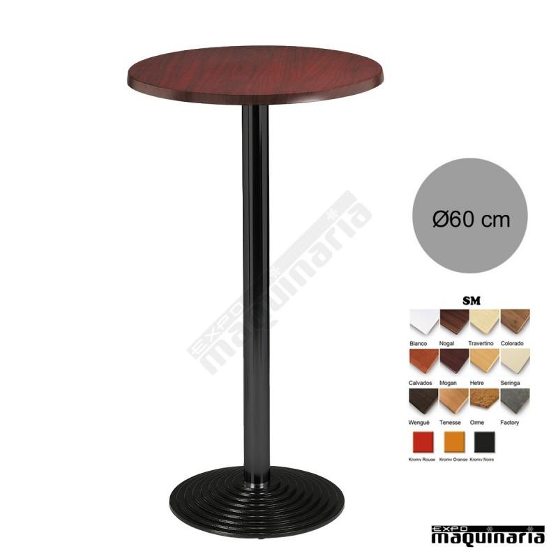 Mesa alta bar 3r17sm redonda - Mesas altas para bar ...
