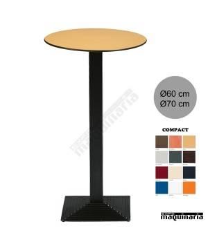 Mesa bar hostelería 3R96COR redonda