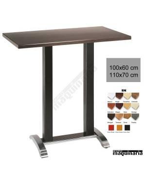 Mesa bar hostelería 4R22SM aluminio