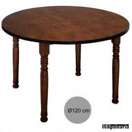 Mesa madera bar 1R8R redonda