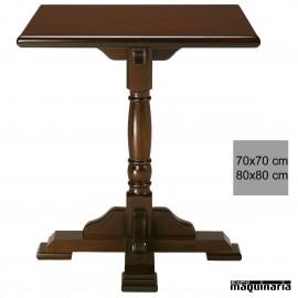 Mesa madera bar 4R0C cuadrada