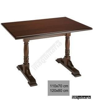 Mesa madera hostelería 4R1 bar