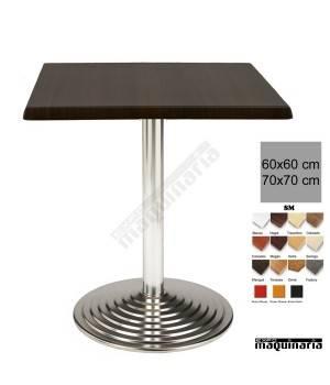 Mesa bar terraza 3R90SMC cuadrada
