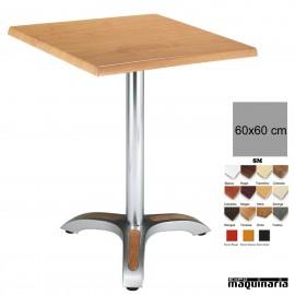 Mesa bar hostelería 4R03SMC cuadrada