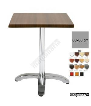 Mesa bar hostelería 4R00SMC cuadrada