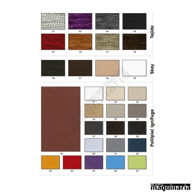Silla tapizada de madera 1t258 for Sillas economicas de madera