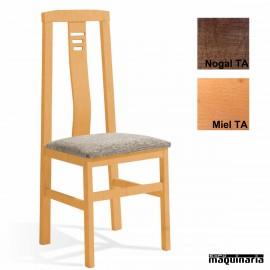 Silla madera tapizada 1T089