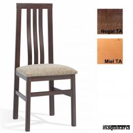 Silla bar madera tapizada 1T090