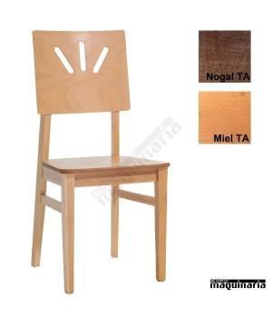 Silla madera hostelería 1T242MA